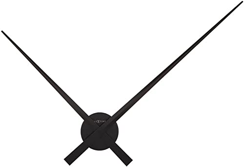 NEXTIME Large Wall Clock 85 cm-Aluminium Hands'