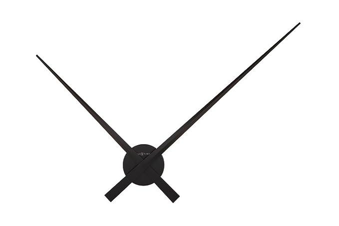 """NeXtime Reloj de pared muy grande """"HANDS"""", simplemente agujas de aluminio,"""