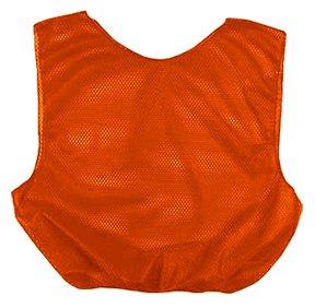 Orange Youth Mesh Poly Scrimmage Vests ()