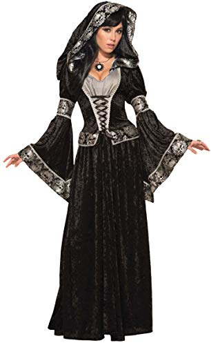 Forum Novelties Women's Dark Sorceress Costume, Multi, One Size -