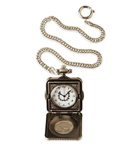 Buffalo Nickel Pocket Watch