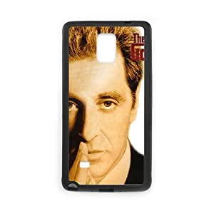 samsung galaxy note4 Black Godfather phone case Christmas Gifts&Gift Attractive Phone Case HRN5C323508