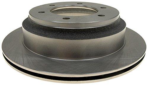 (ACDelco 18A570A Advantage Non-Coated Rear Disc Brake Rotor)