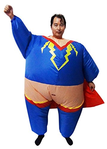 Suit Dress Costume Fancy Hero Operated Super Fan Inflatable x1S7w8qI