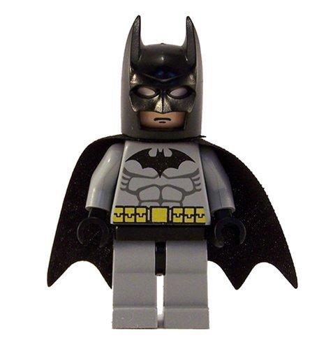 amazoncom lego batman minifigure batman classic light gray 2006 toys games