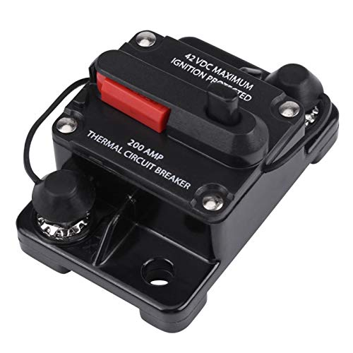 Auto stroomonderbreker audio stroomonderbreker DC 12 V42 V professionele waterdichte 50A300A stereo RV auto video voor auto audio overstroombeveiliging200A