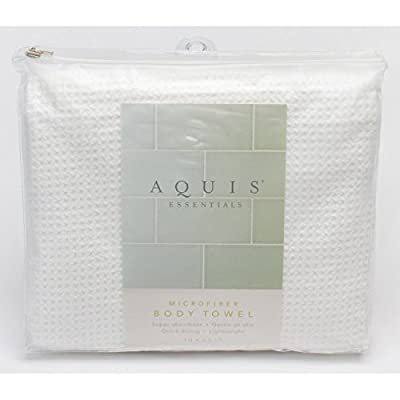 Aquis Microfiber Waffle Body Towel