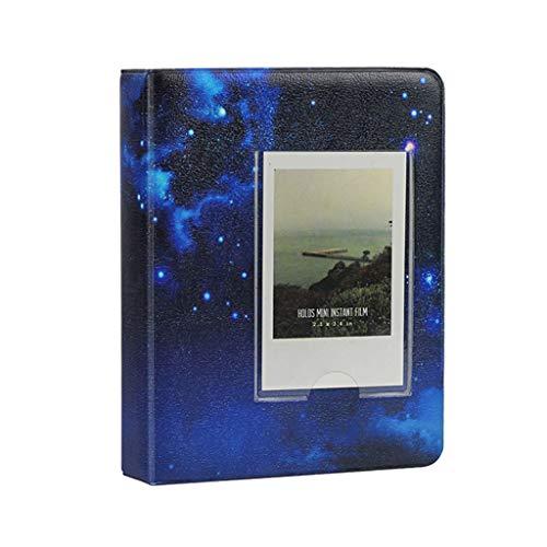 (Drebubu 64 Pockets 3 Inch Starry Sky Photo Book Album for Fujifilm Instax Mini Films 9 8 7s 90 70 25 Name Card Holder )