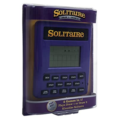 Trademark Global Electronic Handheld Solitaire Game: Sports & Outdoors