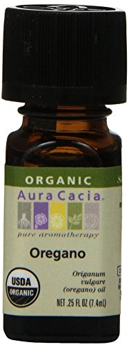 Aura Cacia Organic, Oregano, 0.25 Fluid Ounce