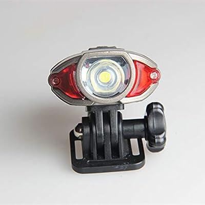Linterna Frontal Ciclismo bicicleta casco lámpara Usb recargable ...