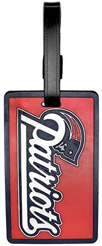 aminco New England Patriots Rubber Bag Tag