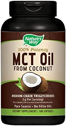 Natures Way MCT Oil Softgels