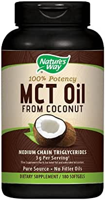 Vitamins & Supplements: Nature's Way MCT Oil Softgels
