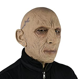 FantasyParty Halloween Novelty Mask Costume Party Latex human Head Mask Old Man Mask realistic mask