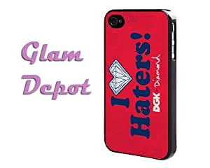 I Love Haters DGK Diamond Supply Co. Red Grunge iPhone 5 5s Case by GD