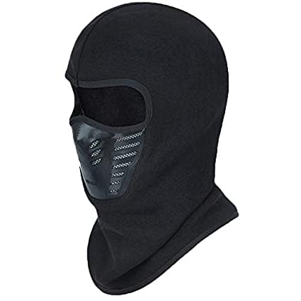 372622b8cbc Image Unavailable. Image not available for. Color  Sporeek Winter Balaclava  Face Mask Cold Weather Windproof Fleece Ski ...