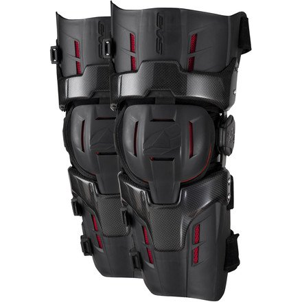 EVS Sports RS9 Pro Knee Braces (White, Medium)