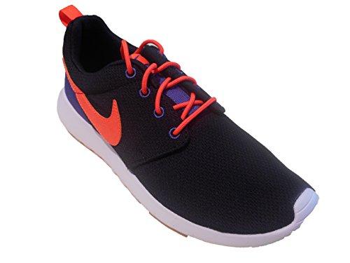 Nike Kids Roshe One GS, BLACK/TOTAL CRIMSON-DARK PURPLE