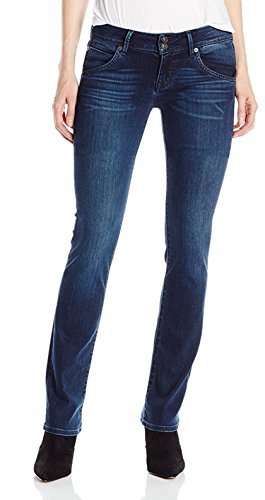 HUDSON Jeans Women's Beth Baby Bootcut Flap Pocket Elysian Denim Jeans, Canela, 27