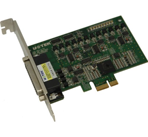 UTEK UT-794 4-ports PCI-E to RS485/422 Multi-Serial Port Card with ESD Protection by U-Tek