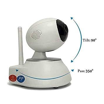 Cámara de Vigilancia P2P,día/noche,detecta movimiento-sonido,wifi Cámara
