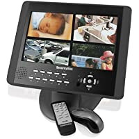 SecurityMan LCDDVR4-320 10.2-Inch LCD Monitor with 4-Channel 320 GB DVR 2-In-One system