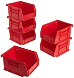 Akro-Mils 08212RED 30210 AkroBins Plastic Storage