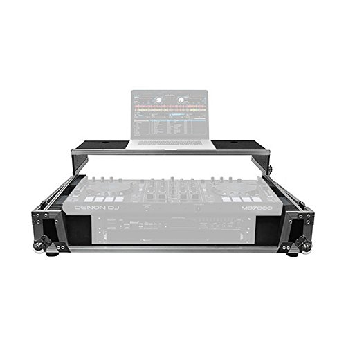Odyssey FZGSMC7000W2 | Glide Style DJ Controller Case for Denon MC7000