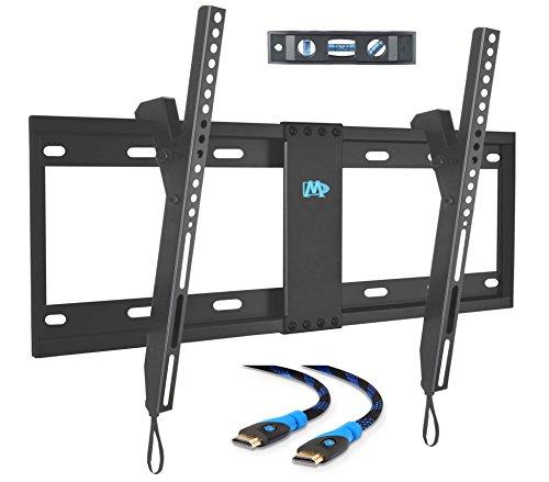 mounting dream md2268 lk p tilting tv wall mount bracket and hardware pack for most 37 60 inch. Black Bedroom Furniture Sets. Home Design Ideas