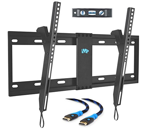 Mounting Dream MD2268-LK TV Wall Mount Tilting Bracket for Most 42-70 Inch LED, LCD and Plasma TVs up to VESA 600 x 400mm and 132 LBS Loading Capacity, 6 FT - Kit Screen Mounting Plasma