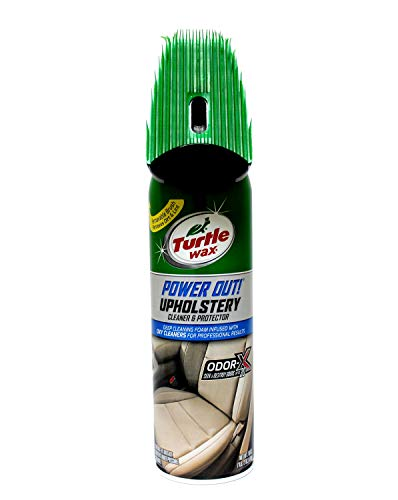 Turtle Wax T-246 Upholstery Cleaner, 22 Ounces Brush Top