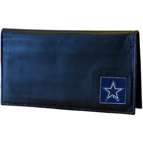 Dallas Cowboys Checkbook Cover (NFL Dallas Cowboys Deluxe Leather Checkbook Cover)