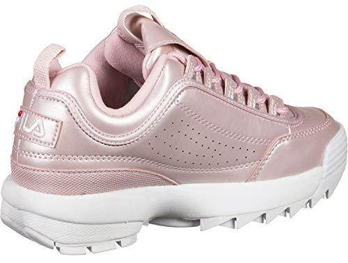 M Pink Wmn Fila Damen Low Schuhe Disruptor Fq5w6