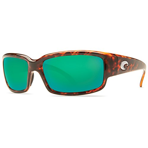 Costa Del Mar CL10OGMGLP Caballito Sunglass, Tortoise Frame Green Mirror