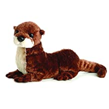 "American River Otter 12"" Flopsie Stuffed Animal"