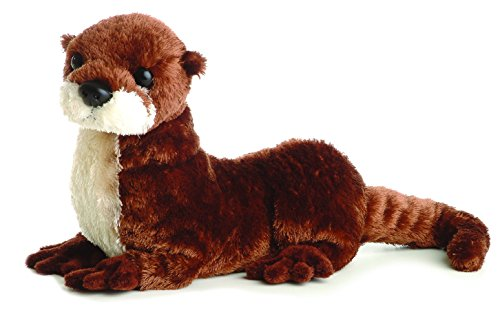 Aurora World Flopsie Plush American River Otter 12