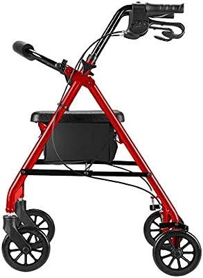 Days-Pro Mobiclinic Andador para Ancianos de 4 Ruedas ...