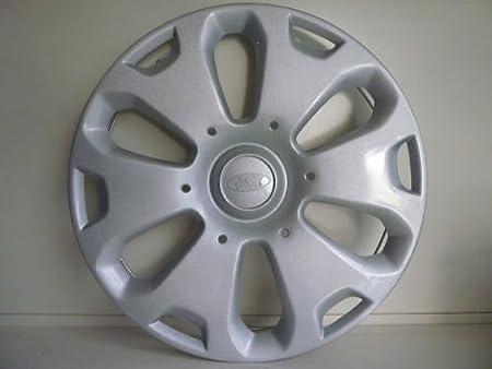 Juego de Tapacubos 4 Tapacubos Diseño de Ford Fiesta 14 r Desde 2008: Amazon.es: Coche y moto