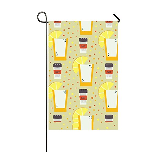 Lucy Curme Pattern With Mexican double-Sided Appliqu¨¦ Garden Flag-12 x 18-outdoor flag ()