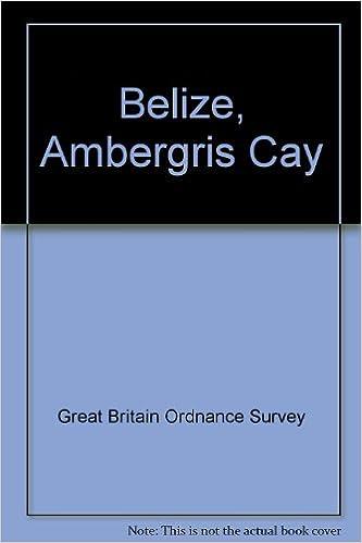 Ordnance Survey World Maps Belize Ambergris Cay Sheet 6 Amazon