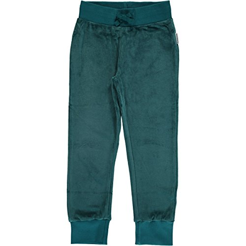 1f645c960c039b Trousers in velour fabric with an elasticated drawstring waist and ribbed  hems. 80% Bio Baumwolle Gots, 20% Polyester
