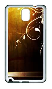 Retro Iphone Wallpaper TPU Custom Samsung Galaxy Note 3/Note III/N9000 Case and Cover - White