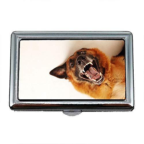 Cane Biglietto Del Bulldog Carino Del Ritratto Scatola Case24 Da Bianco Visita Supporto Inox Da Portasigarette Biglietto Cassa Cucciolo Animale Della Visita waEfqS