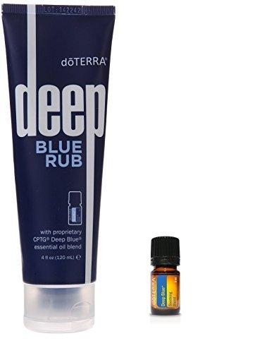 dōTerra Deep Blue Sore Muscle Rub & Soothing Essential Oi...