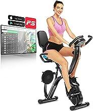 Profun Folding Fitness Exercise Bike Exercise Bike Exercise Exercise Bike with Exercise Disc for Kidneys, 10 L