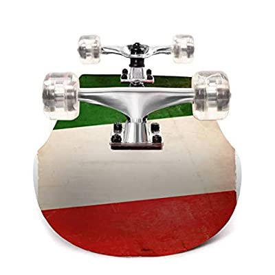 Italian Flag XXXL rockandrolls and Pictures Outdoor Skateboard 31