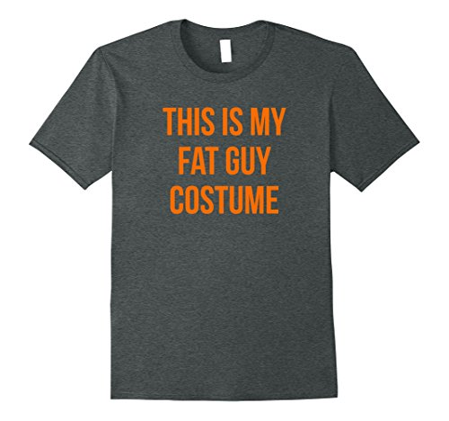 Simple Guy Costumes For Halloween (Mens This is My Fat Guy Costume for Men 3XL Dark Heather)