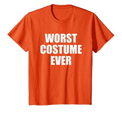 Kids worst costume ever funny halloween tshirt 10 -