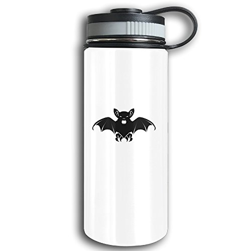 Bats For Halloween Stainless Steel Vacuum Insulated Cup Sports Kettle With Wide Mouth - Double Walled Sport Vacuum Flask For Hot And Cold Beverages